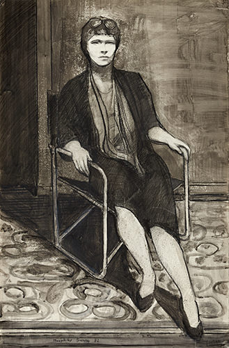 William Theophilus Brown, Seated Woman, 1982